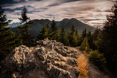 tatry berg Arkivbild