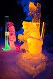 TATRY ICE MASTER 2013 at Hrebienok, Slovakia Stock Photography