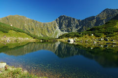 Tatry - lac de montagne Photos stock