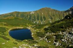 Tatry - lago della montagna Fotografie Stock Libere da Diritti