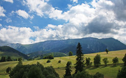 Tatry landscape. Tatry moutains view to the landscape stock photo