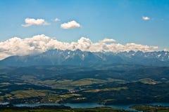 Tatry, Luban, Gorce, Польша Стоковые Фото
