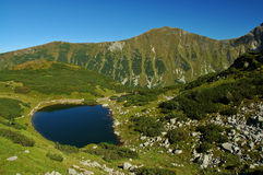 Tatry - mountain lake Royalty Free Stock Photos