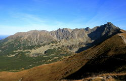 Tatry Mountains in Poland Royalty Free Stock Photo