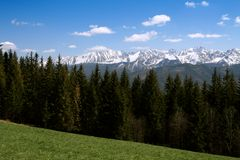 Tatry mountains, poland Stock Images