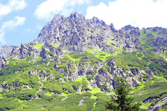 Tatry mountains, poland Royalty Free Stock Images