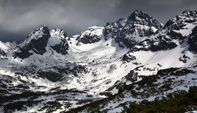 Tatry mountais. Tatry mountains during winter. Picture taken in Poland stock photos