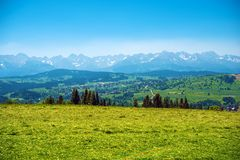 Tatry Panorama Stock Image