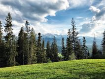 Tatry in Poland. Beautifull mountains Tatry Stock Image