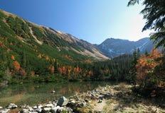 Tatry - Tatliakovo mountain lake Stock Images