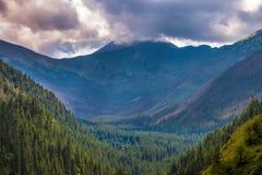 Tatrzański góra krajobraz obraz royalty free