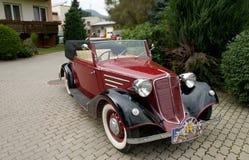 Tatrzańscy 75 Cabrio 1936 Zdjęcia Stock
