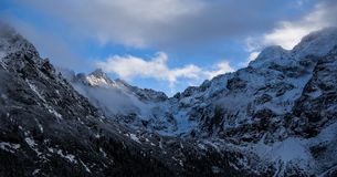 Tatrzańskie góry Fotografia Royalty Free
