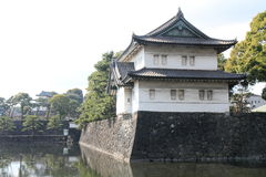 Tatsumi keep of Edo castle Stock Image