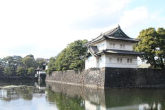 Tatsumi keep of Edo castle Stock Images