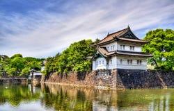 Tatsumi Yagura,在故宫的防御塔 免版税图库摄影