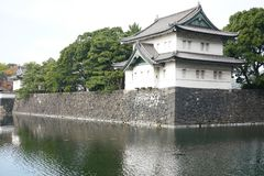 Tatsumi-Yagura στο αυτοκρατορικό παλάτι του Τόκιο Στοκ εικόνα με δικαίωμα ελεύθερης χρήσης