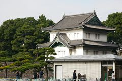 Tatsumi-yagura en el palacio imperial de Tokio Fotos de archivo libres de regalías
