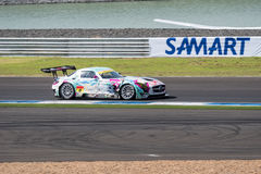 Tatsuya Kataoka of GOODSMILE RACING & TeamUKYO in Warm Up Lap Su Stock Images