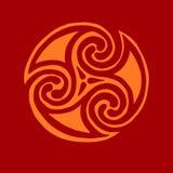 tatt céltico del icono del nudo del extracto del elemento del símbolo del diseño de la muestra Fotografía de archivo libre de regalías