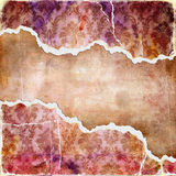 Tattered background. Vintage tattered background with place for text Stock Photo