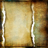 Tattered background. Vintage tattered background with place for text Royalty Free Stock Image