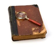Tattered book Stock Photography