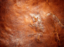 Tattered leather Royalty Free Stock Photos