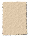 Tattered Paper. Tattered and torn textured Paper Stock Photography