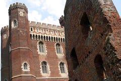 tattershall замока стоковые изображения