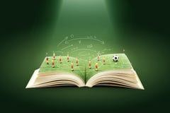 Tattiche di calcio fotografie stock