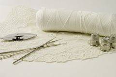 Tatting And Lace Royalty Free Stock Photography