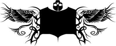 Tatto Fahne Lizenzfreies Stockbild