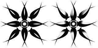 Tatto tribal da estrela Fotos de Stock