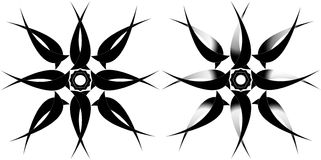 Tatto tribal de la estrella Fotos de archivo