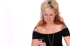 Tattoed woman 6 Stock Photo