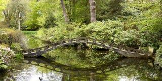 日本庭院在Tatton公园 库存照片