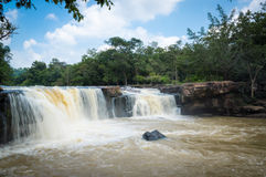 Tatton vattenfallnationalpark Arkivfoto