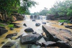 Tatton Waterfall, Chaiyaphum, Thailand Stock Images