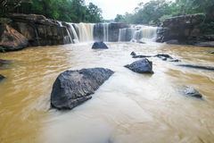 Tatton Waterfall, Chaiyaphum, Thailand Stock Photo