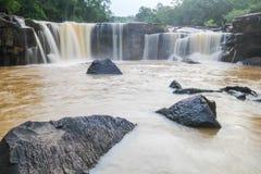 Tatton Waterfall, Chaiyaphum, Thailand Stock Photography
