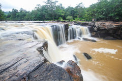 Tatton Waterfall, Chaiyaphum, Thailand Royalty Free Stock Photo