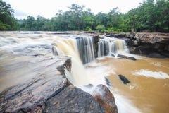 Tatton Waterfall, Chaiyaphum, Thailand Royalty Free Stock Image