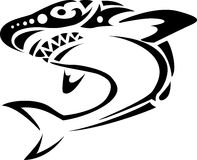 Tattoo акулы Стоковое Изображение RF