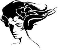 tattoo девушки Стоковые Фотографии RF