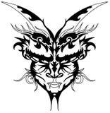 tattoo дьявола иллюстрация вектора