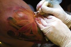 tattoo конвенции стоковое фото