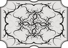 tattoo конструкции соплеменный Стоковые Изображения