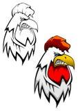 tattoo крана головной Стоковые Изображения RF