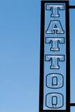 tattoo магазина знака Стоковые Фото